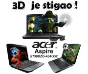 3D LAPTOP ACER ASPIRE 5738DZG