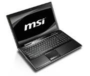 MSI FX600 laptop