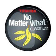 Toshiba Garancija bez obzira na sve