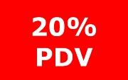PDV 20%