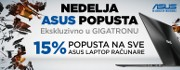 Popust na ASUS laptopove