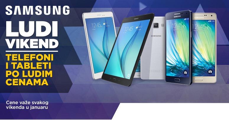 Popust na Samsung tablete