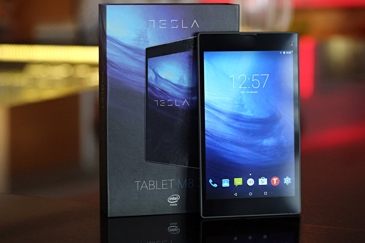 Tesla M8 3G tablet kutija