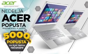 Acer laptopovi popust