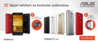 ASUS laptop i telefon