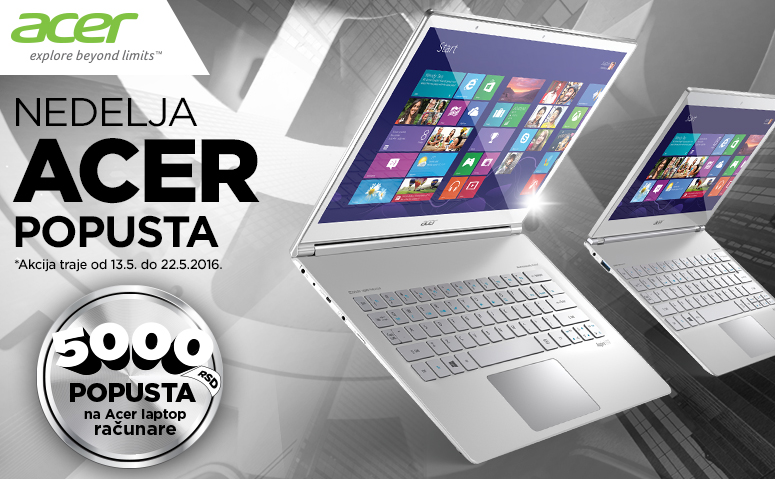 Acer laptop popust